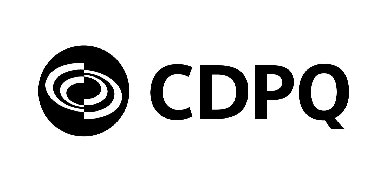 Logo de CDPQ.
